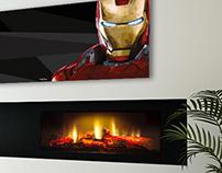 Low Poly - Iron Man