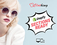 Clothing - Fashion Drag & Drop Sections Shopify theme