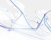Global Shipping Visualization