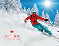 VAL D'ISÈRE - Communication Application mobile