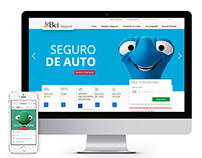 BCI Seguros - Corporative website