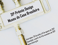 31º Concurso Cartaz - Prêmio Design MCB