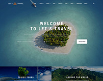 Let's Travel - Complete Travel Booking Theme