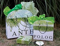 Anthropologie Tropical Foliage Campaign