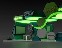 Merck exhibition stand