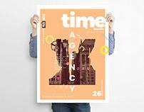 Time Travel Event Flyer Design