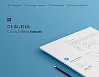 Resume | Claudia