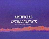 Music videos using artificial intelligence