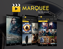 Marquee Movie App for Android