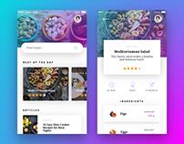Recipe App - Concept