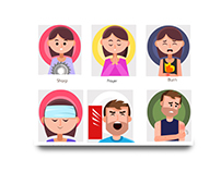 Communicare App illustrations