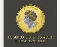Tesoro Coin Trader / Logo Design