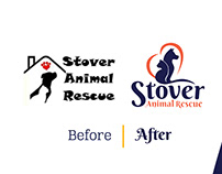 Stover Animal Rescue Rebranding