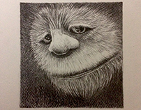 CAROL - WHERE THE WILD THINGS ARE - PENCIL ILLUSTRATION