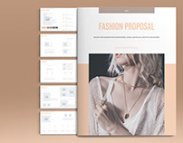 Fashion Proposal Layout