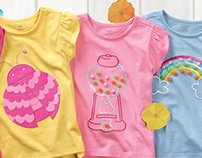 Little Girls Apparel Design : Meijer Corp.
