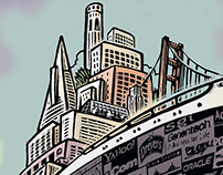 SF Chronicle Illustrations