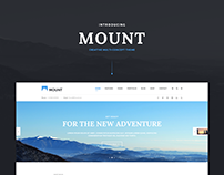 Mount Creative Multi Concept WordPress Theme