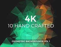 4K Geometric Backgrounds vol 1