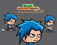 [FOR SALE] WARRIOR KID 2D GAME CHARACTER SPRITE