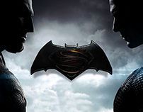 Batman vs Superman Website Concept