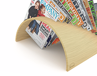 Simple - Magazine holder