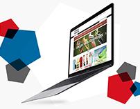 Sports Goods Store Web Design