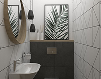 Geometric toilet