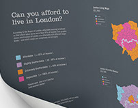 Can you afford to live in London? Infographic