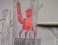 Красный Распил Red Sawing