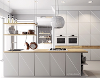 Kitchen design & visualization