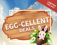 Egg-cellent Deals Easter Promo Campaign for HPP
