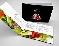 Diseño gráfico - Cartas menú