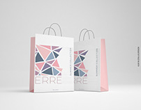 ERRE /Erre Milan S.A/ shopping bag by Zollo.Design