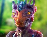 Alien X - Zbrush Oscar Creativo