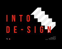 INTO DE-SIGN student exhibition
