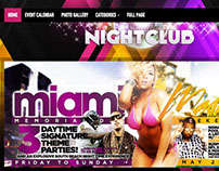 Nightclub WordPress Bars, DJs & Music Bands Theme