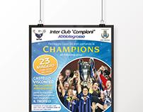Poster - Inter club Campioni per la Champions