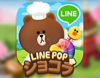 LINEPOP Chocolat VFX / Animation work