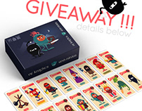 Of Knights and Ninjas Giveaway- Facebook and Instagram