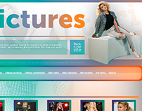 Toripictures.net Coppermine Design