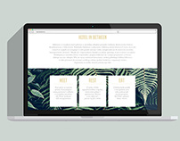 Landing Page for  a Hotel InBetween