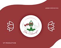 Logo for a Yogini Blogger