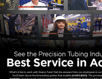 "Sharon Tube ""Best Service in Action"" Ad"