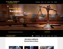 Estudio Jurídico - Trabajo en diseño web