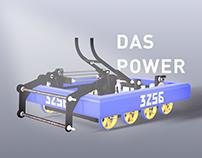 Das Plakat - The Poster for Team 3256 Robot Das Power