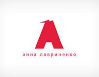Anna Lavrinenko Logo & Web