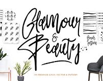 Glamour Handtype & Patterns
