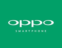Oppo Smartphone Ad Design