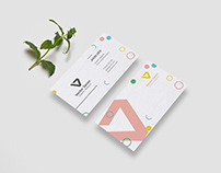 Free Clean and Minimal Business Card Template